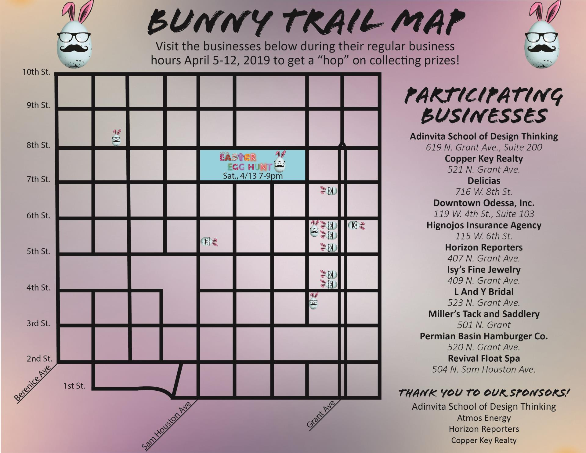 Bunny Trail Map