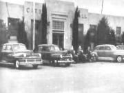Odessa City Hall and Police Department 1940s